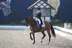 Freese Isabel, (NOR), Sam's Ass<br /> Intermediare II - Louisdor-Preis<br /> Horses & Dreams meets Denmark - Hagen 2016<br /> © Hippo Foto - Stefan Lafrentz