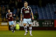Burnley midfielder Scott Arfield  during the Sky Bet Championship match between Burnley and Derby County at Turf Moor, Burnley, England on 25 January 2016. Photo by Simon Davies.