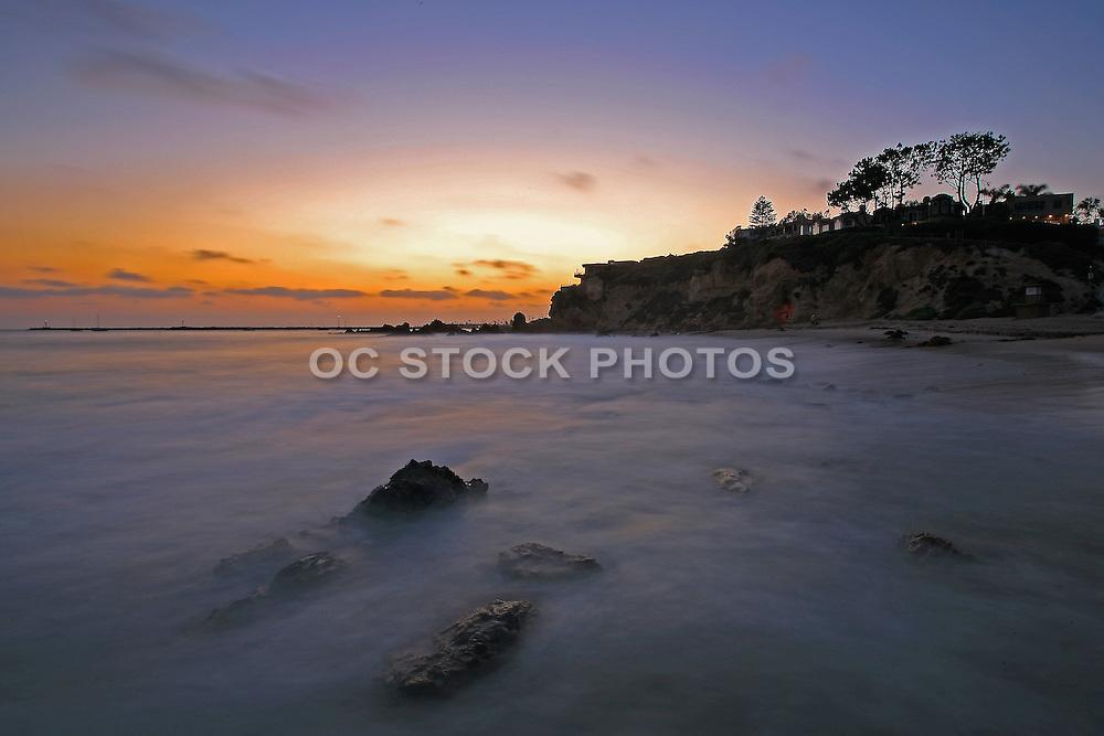 Scenic Corona Del Mar Beach