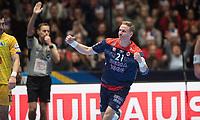MEN'S EHF EURO 2020<br /> Norway - Bosnia and Herzegovina 10  jan 2020<br /> Trondheim Spektrum<br /> Trondheim, Norway<br /> <br /> Magnus Gullerud, Norge<br /> <br /> <br /> <br /> <br /> Foto : Arve Johnsen, Digitalsport