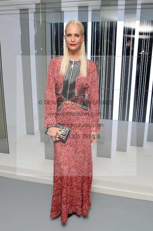 POPPY DELEVINGNE at the Louis Vuitton Series 3 VIP Launch held at 180 Strand, London on 20th September 2015.