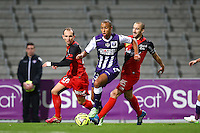 Marcel Tisserand / Lionel Mathis - 20.12.2014 - Toulouse / Guingamp - 19eme journee de Ligue 1 <br />
