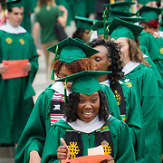 GMU commencement, Fairfax, VA campus. For George Mason University