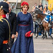 NLD/Den Haag/20190917 - Prinsjesdag 2019, hofdame Bibi gravin van Zuylen van Nijevelt-  den Beer