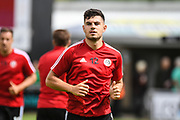 Sheffield United defender John Egan (12) during the Pre-Season Friendly match between Northampton Town and Sheffield United at the PTS Academy Stadium, Northampton, England on 20 July 2019.