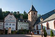 Altstadt von Hirschhorn, Neckar, Hessen, Deutschland | Old town of Hirschhorn, Neckar, Hessen, Germany