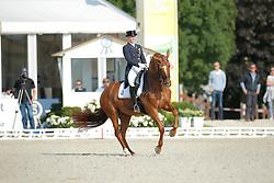 Rothenberger Sanneke, (GER), Wolke Sieben 21 <br /> Grand Prix U25<br /> CDIO Hagen 2015<br /> © Hippo Foto - Stefan Lafrentz<br /> 11/07/15