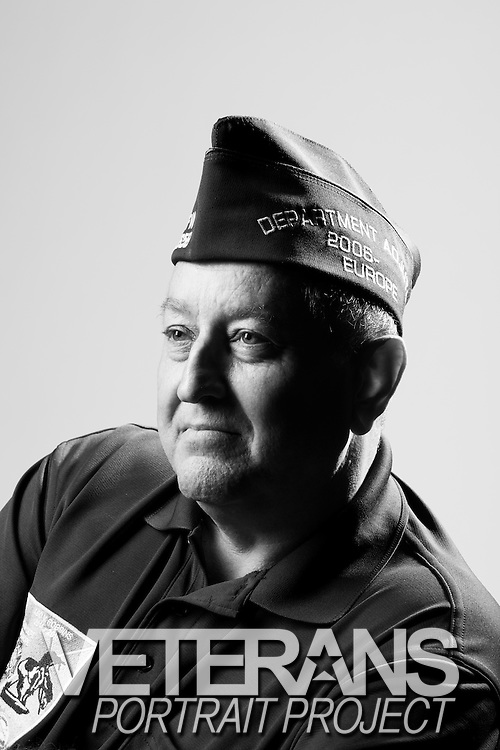 Peter J. Mascetti<br /> Army<br /> Sergeant First Class<br /> Scout<br /> 1975 - 1997<br /> Desert Storm<br /> <br /> Veterans Portrait Project<br /> St. Louis, MO