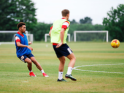 Freddie Hinds in action as Bristol City Under 23s return for a second day of training ahead of their 2017/18 Season - Rogan/JMP - 01/07/2017 - Failand Training Ground - Bristol, England.