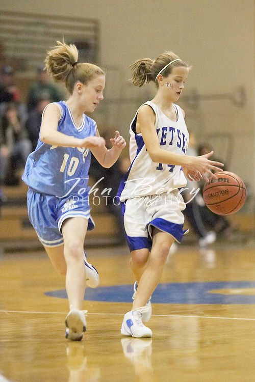 MCHS 8th Grade Girls..vs Page..First Period..December 16, 2004