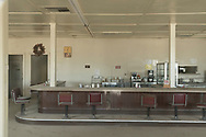 North America, USA, California, Mojave desert, Desert Center, Pax Americana Cafe 2