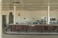 North America, USA, California, Mojave desert, Desert Center, Pax Americana Cafe 2
