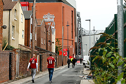 Liverpool fans arrive at Anfield for the Premier League fixture against Southampton - Mandatory by-line: Robbie Stephenson/JMP - 22/09/2018 - FOOTBALL - Anfield - Liverpool, England - Liverpool v Southampton - Premier League