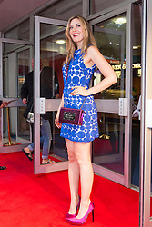 Odeon West End, London, June 16th 2014. TV personality Olivia Lee on the red carpet at the Odeon West End in Leicester Square, London, for the gala Screening of Clint Eastwood's big screen version of the Tony Award winning musical Jersey Boys.