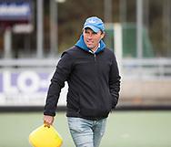 TILBURG - coach Jeroen Delmee (Tilburg) . Hoofdklasse hockey competitie Tilburg-SCHC (4-2). COPYRIGHT KOEN SUYK