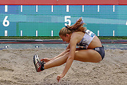 Hanne Maudens (Belgium), Women's Long Jump, during the IAAF Diamond League event at the King Baudouin Stadium, Brussels, Belgium on 6 September 2019.