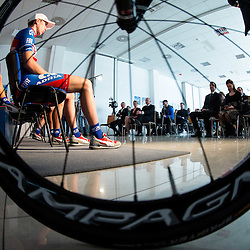 20150305: SLO, Cycling - Presentation of KK Adria Mobil for season 2015