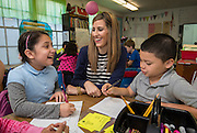 Kathryn McCracken teaches second grade at Sinclair Elementary School, April 27, 2015.