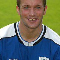 St Johnstone photocall 2004-2005 season.<br />Jordan Tait<br /><br />Picture by Graeme Hart.<br />Copyright Perthshire Picture Agency<br />Tel: 01738 623350  Mobile: 07990 594431