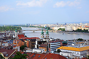 Eastern Europe, Hungary, Budapest, The Danube River