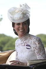 Ascot: Royals at Royal Ascot - 20 June 2017
