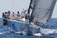 Bribon during the practice race of the AUDI Medcup in Cartagena