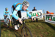 ITALY / ITALIE / ROME / CYCLING / WIELRENNEN / CYCLISME / CYCLOCROSS / CYCLO-CROSS / VELDRIJDEN / WERELDBEKER / WORLD CUP / COUPE DU MONDE / TRAINING / IPPODROMO CAPANNELLE / LAURENS SWEECK /