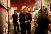 MR. LARSINOS, Preview of Greek Sale sponsored by Citibank. Sotheby's. New Bond st. London. 10 November 2008 *** Local Caption *** -DO NOT ARCHIVE -Copyright Photograph by Dafydd Jones. 248 Clapham Rd. London SW9 0PZ. Tel 0207 820 0771. www.dafjones.com