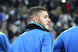 December 9, 2017 - Turin, Piedmont, Italy - Mauro Icardi (FC Internazionale) before the Serie A football match between Juventus FC and FC Internazionale at Allianz Stadium on 09 December, 2017 in Turin, Italy..The final score is 0-0. (Credit Image: © Massimiliano Ferraro/NurPhoto via ZUMA Press)