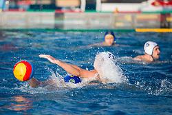 Adraz Trtovsek of VKL Ljubljana Slovan during water polo match between VKL Ljubljana Slovan and AVK Triglav Kranj in 3rd Round of Final of Slovenian Water polo National Championship, on June 16, 2018 in Kodeljevo, Ljubljana, Slovenia. Photo by Urban Urbanc / Sportida