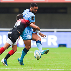 Kahn FOTUALII of Montpellier  during the Top 14 match between Montpellier and Toulouse on October 19, 2019 in Montpellier, France. (Photo by Alexandre Dimou/Icon Sport) - Kahn FOTUALII - Altrad Stadium - Montpellier (France)