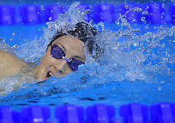 Francesca Segat of Italy swims during the women's 400m individual medley final race at day 4 of LEN European Short Course Swimming Championships Rijeka 2008, on December 14, 2008,  in Kantrida pool, Rijeka, Croatia. (Photo by Vid Ponikvar / Sportida)