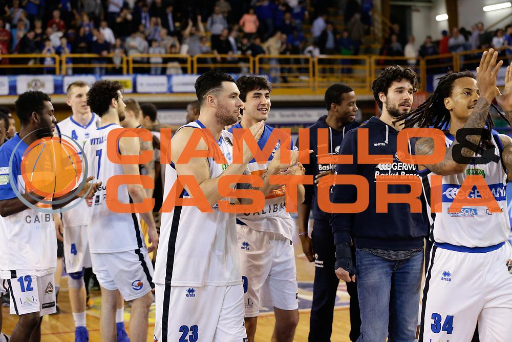 Basket Leonessa Brescia<br /> Germani Basket Brescia Leonessa - Pasta Reggia Juve Caserta<br /> Lega Basket Serie A 2016/2017<br /> Montichiari, 02/04/2017<br /> Foto Ciamillo-Castoria / M. Brondi