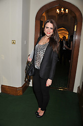 SUSIE AMY at a reception for The Mirela Fund in partnership with Hope and Homes for Children hosted by Natalie Pinkham in The Churchill Room, House of Commons, London on 30th April 2013.