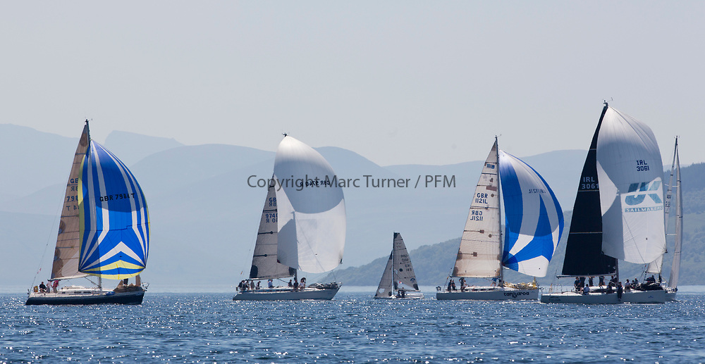 Silvers Marine Scottish Series 2017<br /> Tarbert Loch Fyne - Sailing<br /> <br /> Credit Marc Turner / PFM