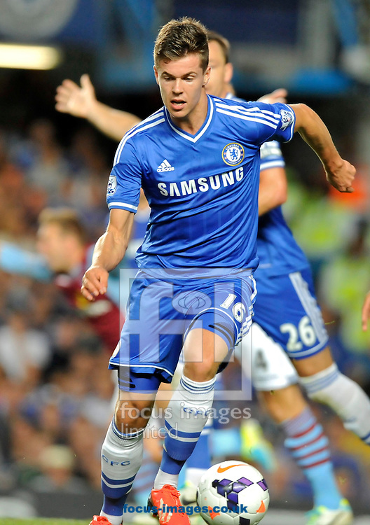 Picture by Alan Stanford/Focus Images Ltd +44 7915 056117<br /> 21/08/2013<br /> New signing Marco van Ginkel of Chelsea during the Barclays Premier League match at Stamford Bridge, London.