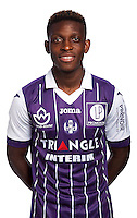 Francois Moubandje of Toulouse during the photo shooting session of Toulouse FC for the new season 2016/2017 in Toulouse on September 16th 2016<br /> Photo : TFC / Icon Sport