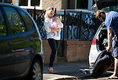 EXCLUSIVE - Ben Cohen and Kristina Rihanoff with baby daughter