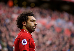 LIVERPOOL, ENGLAND - Saturday, September 22, 2018: Liverpool's Mohamed Salah during the FA Premier League match between Liverpool FC and Southampton FC at Anfield. (Pic by Jon Super/Propaganda)