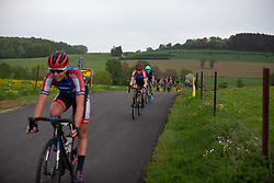 The third group rides on the second short lap of Stage 2 of the Festival Elsy Jacobs - a 111.1 km road race, starting and finishing in Garnich on April 29, 2018, in Luxembourg. (Photo by Balint Hamvas/Velofocus.com)Stage 2 of the Festival Elsy Jacobs - a 111.1 km road race, starting and finishing in Garnich on April 29, 2018, in Luxembourg. (Photo by Balint Hamvas/Velofocus.com)