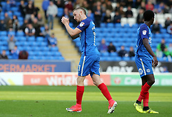 Marcus Maddison of Peterborough United acknowledges the supporters after being substitute - Mandatory by-line: Joe Dent/JMP - 28/10/2017 - FOOTBALL - ABAX Stadium - Peterborough, England - Peterborough United v Shrewsbury Town - Sky Bet League One