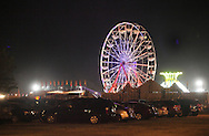 Augusta, New Jersey - A view from the parking lot of the New Jersey State Fair and Sussex County Farm and Horse Show on Aug. 11, 2010.