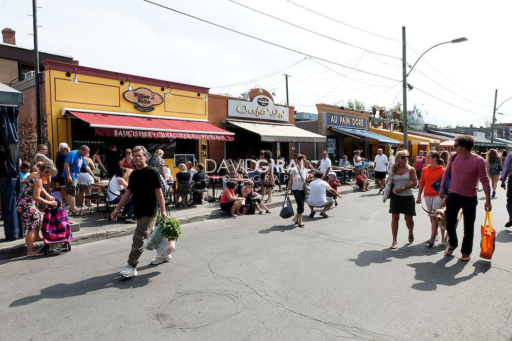 Marché Jean Talon, Rosemont Petite-Patrie, Montréal, Quebec, Canada