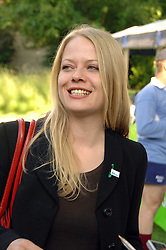 SIAN BERRY at the 21st annual Macmillan Cancer Support Parliamentary Tug of War held in Westminster College Gardens, London on 10th June 2008.<br />