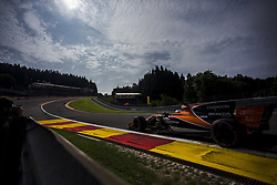 August 25, 2017 - Spa, Belgium - 14 ALONSO Fernando from Spain from McLaren Honda during the Formula One Belgian Grand Prix at Circuit de Spa-Francorchamps on August 25, 2017 in Spa, Belgium. (Credit Image: © Xavier Bonilla/NurPhoto via ZUMA Press)