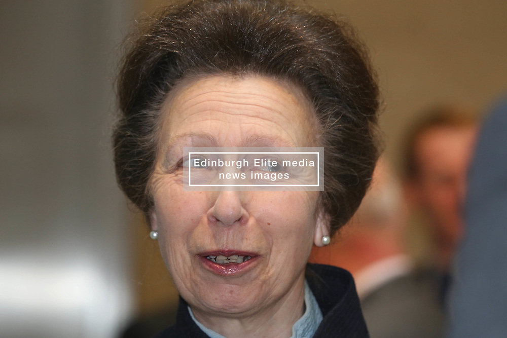 Princess Royal sharing a laugh while meeting staff at the new Standard Life Aberdeen HQ in Edinburgh 10042018 pic by Terry Murden @edinburghelitemedia 07971 686038