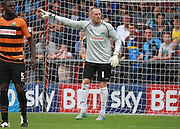Barnet goalkeeper Graham Stack during the Sky Bet League 2 match between Barnet and Wycombe Wanderers at The Hive Stadium, London, England on 15 August 2015. Photo by Bennett Dean.