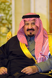 File photo - Saudi Crown Prince Sultan Bin Abdul Aziz Al Saud attends a dinner offered by Saudi King for his guest, French President Nicolas Sarkozy and the French delegation in Riyadh, Saudi Arabia on January 13, 2008. Sarkozy is on his first visit to the Arabian Gulf that will take him also to Qatar and to the United Arab Emirates. Saudi Arabia's king has appointed his son Mohammed bin Salman as crown prince - replacing his nephew, Mohammed bin Nayef, as first in line to the throne. Prince Mohammed bin Nayef, 57, has been removed from his role as head of domestic security, state media say. Photo by Eric Hadj-Pool/ABACAPRESS.COM
