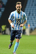 Coventry City striker Adam Armstrong during the Sky Bet League 1 match between Coventry City and Peterborough United at the Ricoh Arena, Coventry, England on 31 October 2015. Photo by Alan Franklin.