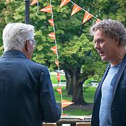 NLD/Amsterdam/20180907 - Start Stoptober 2018, Jan Slagter in gesprek met Kees van der Spek